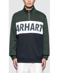 Carhartt WIP - Retro Sport Half Zip Sweatshirt - Lyst