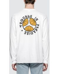 Strangers - Trouble In Paradise L/s T-shirt - Lyst