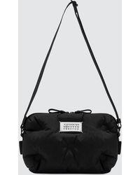 Maison Margiela Two Ways Nylon Pochette Bag - Black
