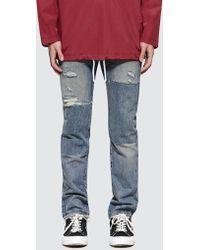 Levi's - Half Day Selvedge 511 Slim Fit Jeans - Lyst