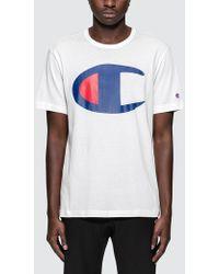 Champion - Oversized Logo S/s T-shirt - Lyst
