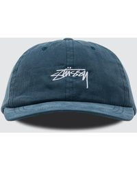 Stussy - Peached Smooth Stock Low Pro Cap - Lyst