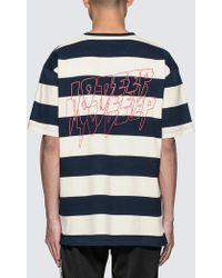10.deep - S&f Striped S/s T-shirt - Lyst