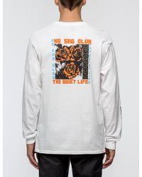 The Quiet Life - No Sad Club L/s T-shirt - Lyst