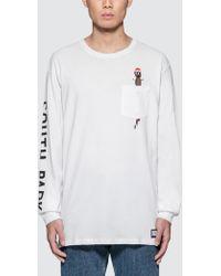 Huf - South Park X Mr Hanky L/s Pocket T-shirt - Lyst
