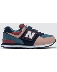 """New Balance - """" 574 """"""""color Canvas Pack"""""""" Pre-school"""" - Lyst"""