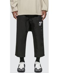Rick Owens Drkshdw - Drawstring Cropped Pants - Lyst