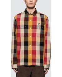 Human Made - Hmmd Check Shirt - Lyst