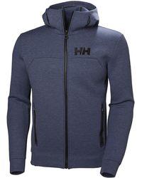 851be2732274 Lyst - Stussy Design Applique Hoodie Ocean in Blue for Men