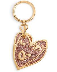 Henri Bendel - Heart Glitter Bag Charm - Lyst