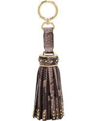 Henri Bendel - Studded Tassel Bag Charm - Lyst