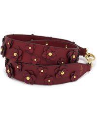 Henri Bendel - Floral Applique Bag Strap - Lyst