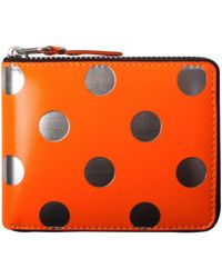 Comme des Garçons - Sa7100gb Optical Group Dot Wallet Orange - Lyst