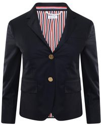 Thom Browne - Classic Formal Jacket Navy - Lyst
