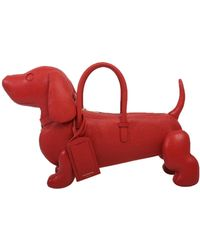 Thom Browne - Medium Hector Handbag Red - Lyst