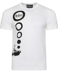 Comme des Garçons - The Beatles Submarine T-shirt White - Lyst