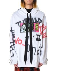 Kidill - Graffiti Hooded Pullover - Lyst