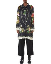 By Walid - 'martha' Floral Silk Jacket - Lyst