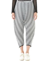 Issey Miyake - Baked Stretch Plissé Trouser - Lyst