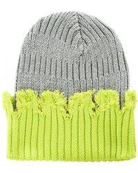 Liam Hodges - Paneled Knit Beanie - Lyst