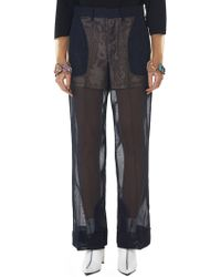Toga - Darted Gauze Pant - Lyst