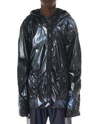 99% Is - Custom Painted Raincoat - Lyst
