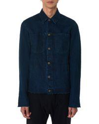 Ma+ - Denim Jacket - Lyst