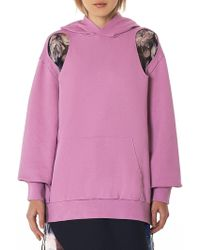 Yang Li - Cut-out Hooded Pullover - Lyst