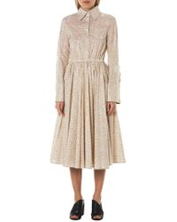 Mikio Sakabe - Sequined Microfloral Dress - Lyst