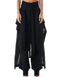 Barbara I Gongini - Structured Skirt-pants Hybrid - Lyst