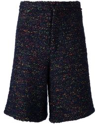 Tillmann Lauterbach - Multi-coloured Wool Short - Lyst