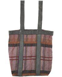 d0c35baab6 Lyst - Yohji Yamamoto Washed Linen Backpack in Gray