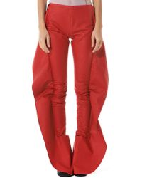 Paula Knorr - Winged Side Seam Trousers - Lyst