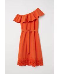 2a3ca1af6c3 H M - One-shoulder Dress - Lyst