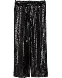 H&M - Jupe-culotte à paillettes - Lyst