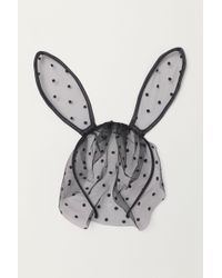H&M - Hairband With Ears - Lyst