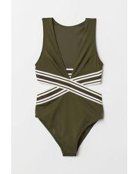 H&M Cut-out Swimsuit