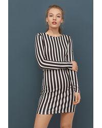 Lyst - H M Lace V-neck Dress in Black 1bba08f8a