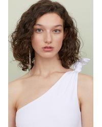 e38198671f6 H&M Lace Body in White - Lyst