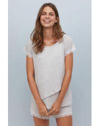 H&M - Mama Nursing Pyjamas - Lyst