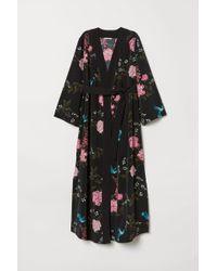 H&M - Mama Patterned Kimono - Lyst