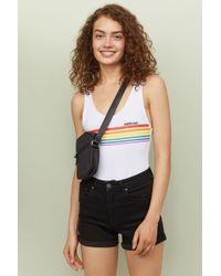 3cad9c263a4 H&M Lace Bodysuit in Black - Lyst