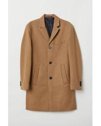 H&M - Manteau en laine mélangée - Lyst