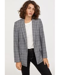 H&M - Straight-cut Blazer - Lyst