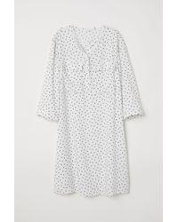 H&M Blusenkleid - Weiß