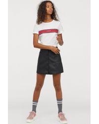 H&M - A-line Skirt - Lyst