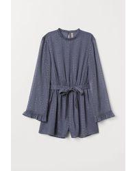H&M - Glittery Jumpsuit - Lyst