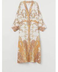 H&M - Kimono aus Lyocellmix - Lyst