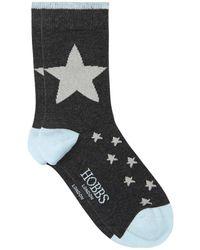 Hobbs - Star Single Sock - Lyst