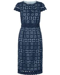 Hobbs - Mabelle Lace Dress - Lyst